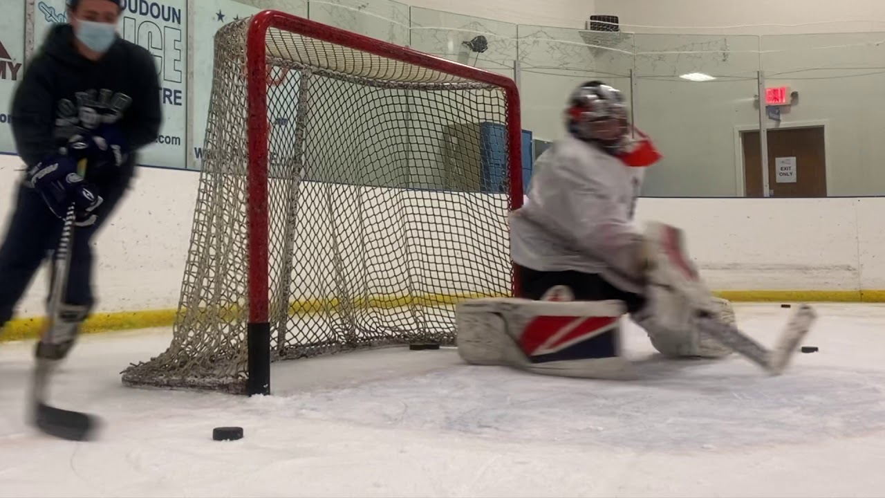 November's Top Goalie Academy Save Sequence