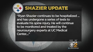 Steelers Issue Updated Statement On Ryan Shazier Injury