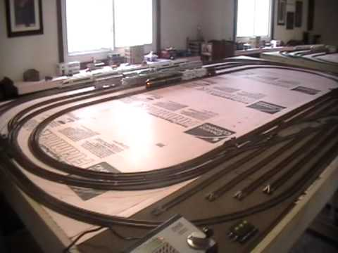 BA'S HO SCALE TRAIN LAYOUT 1