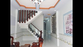 Bán nhà giá rẻ 550tr dành cho người thu nhập thấp Ngay Chợ Hưng Long Bình Chánh Sổ Hồng Riêng