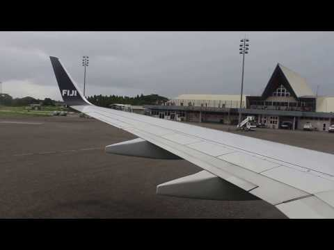 Flying over Honiara | Landing at Henderson International Airport |  2017