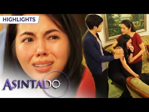 Asintado: Ana cries as she learns that Samantha is her sister   EP 122