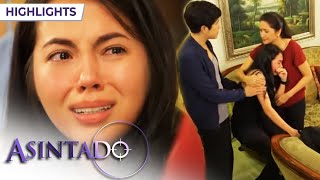 Asintado: Ana cries as she learns that Samantha is her sister | EP 122