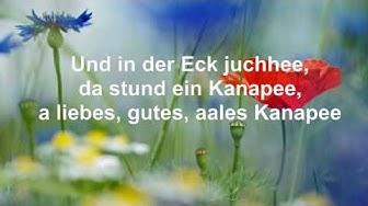 Das alte Kanapee. Lied aus Schlesien. 3Nickels. Schlesischer Streuselkuchen. Mit Text (HD1080p)
