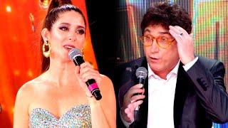 Laura Novoa le puso los puntos a Oscar Mediavilla al cuestionar su participación en Cantando 2020