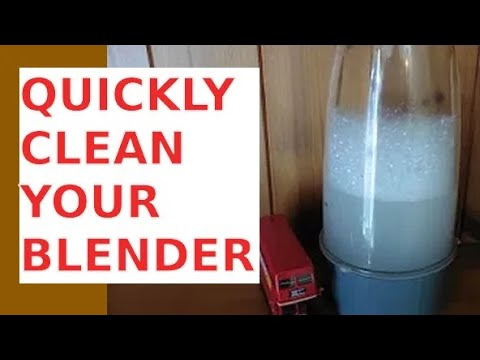 Clean Your Nutribullet in 60 Seconds
