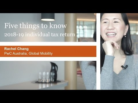 2018-19 Australian Individual Income Tax Return: Five Things To Know