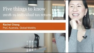 Gambar cover 2018-19 Australian individual income tax return: Five things to know
