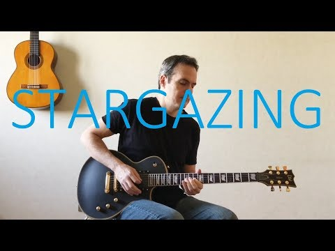 Stargazing ft. Justin Jesso - Electric Guitar Cover with TABS - Kygo