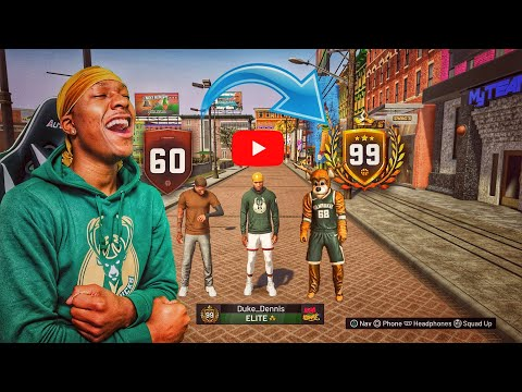 Duke Dennis 99 OVERALL MONTAGE! From 60 Overall To 99 Overall - Best Build On 2k19! ROAD TO 99 2K19
