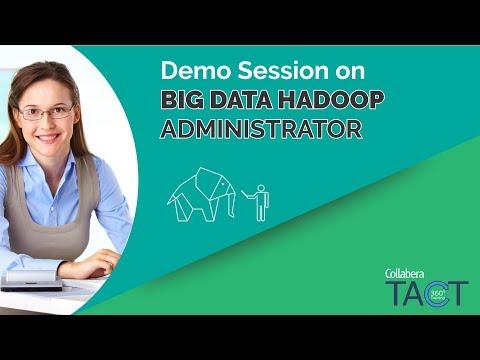Big Data Administrator (Demo Session)