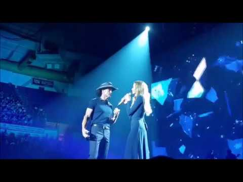 Tim McGraw and Faith Hill Soul2Soul Break First Compilation Part 1