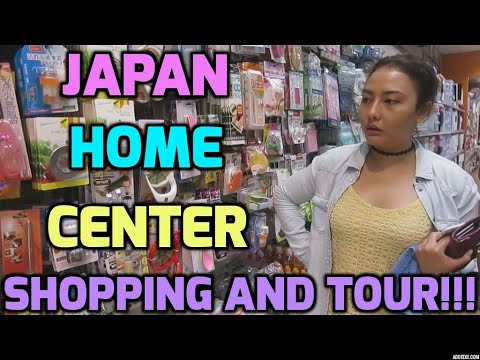 JAPAN HOME CENTER SHOPPING AND TOUR!!! - MichelleFamilyDiary