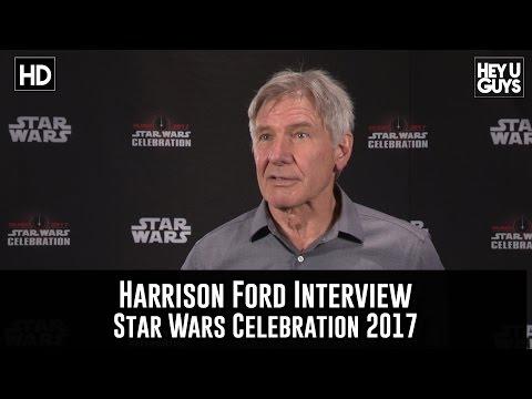 Harrison Ford Interview - Star Wars Celebration 2017