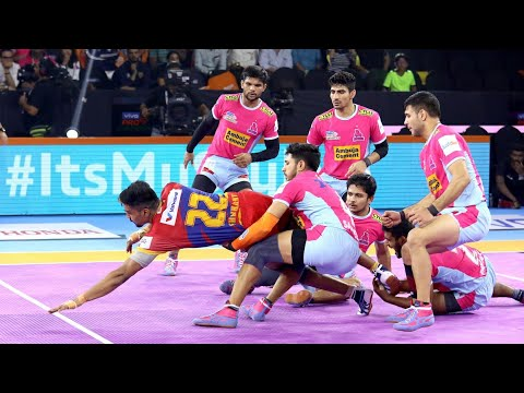 Pro Kabaddi 2019 Highlights | Jaipur Pink Panthers vs UP Yoddha | M93
