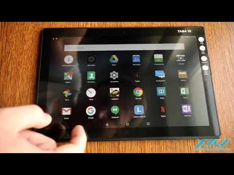 Видеообзор Lenovo Tab 4 10 (XDRV.RU)