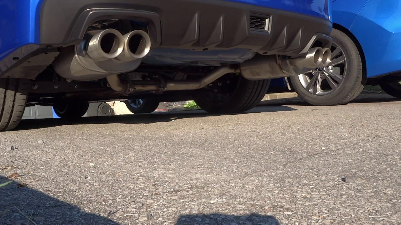 2018 subaru exhaust. brilliant subaru wrx sti 2018 with subaru performance exhaust intended subaru exhaust
