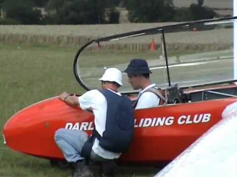 Stuart goes gliding at Darlton Gliding Club