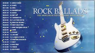 Best Rock Ballads 70's 80's 90's   The Greatest Rock Ballads Of All Time