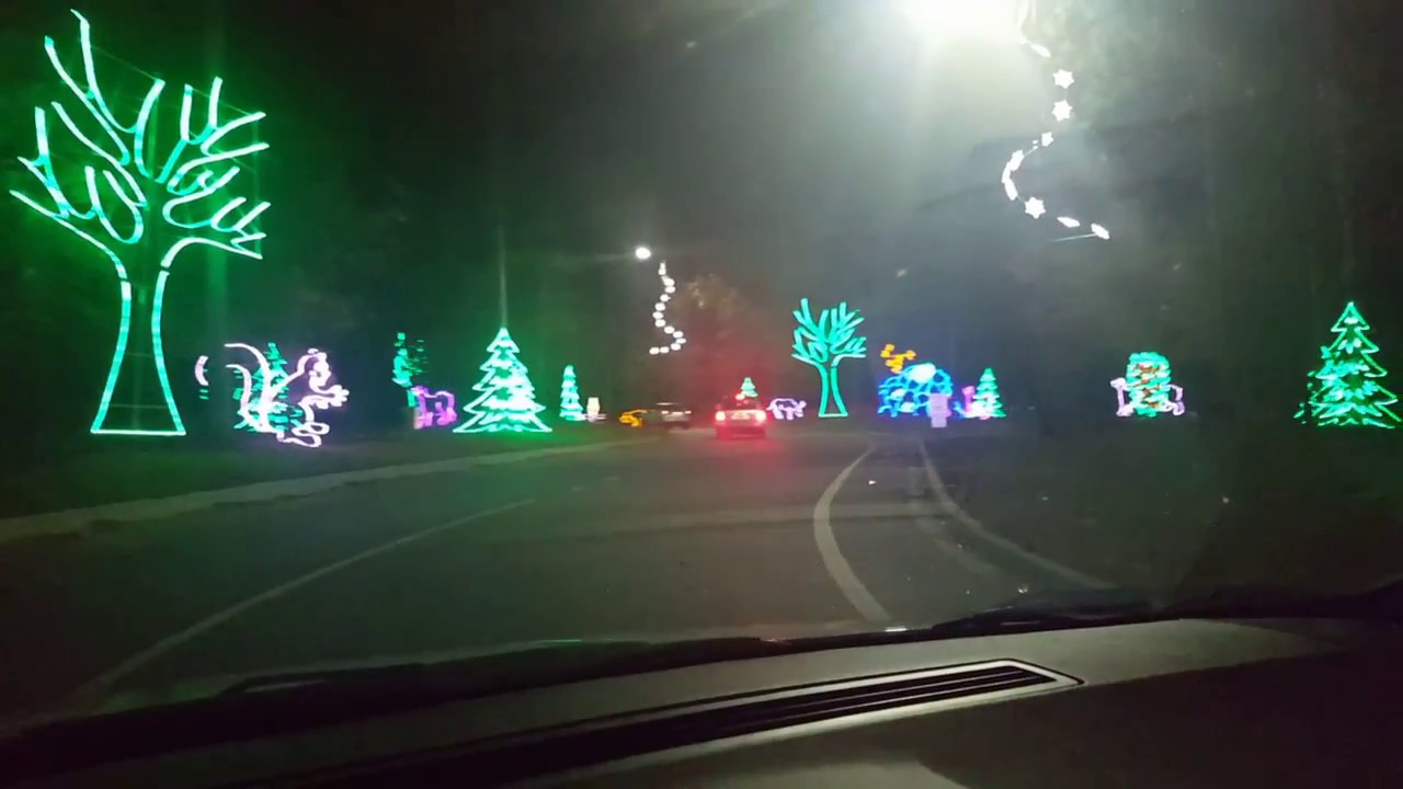 get a sneak peek at the great christmas light show new to north myrtle beach for 2016