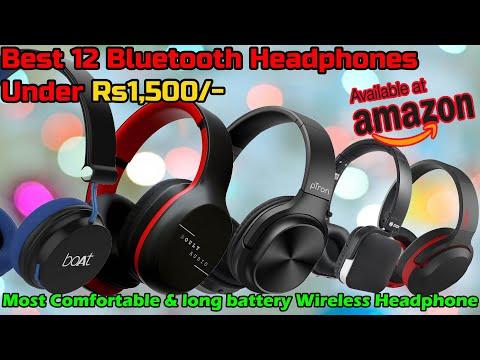 Best Bluetooth Headphones Under 1500 Best Headphones On Ear Under 1500 Best Budget Bluetooth Youtube