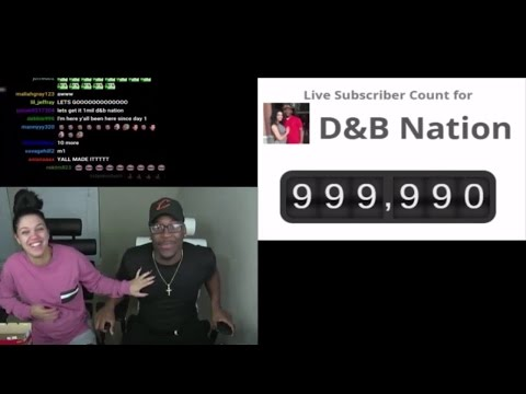 D&B Nation STREAMS On Twitch When Hitting 1 MILLION Subscribers!!! | King Malachai