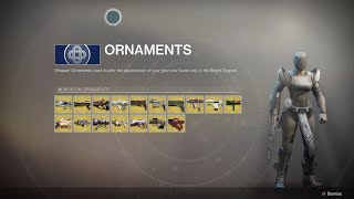 Destiny 2: Exotic Weapons and Ornaments you can Obtain so Far