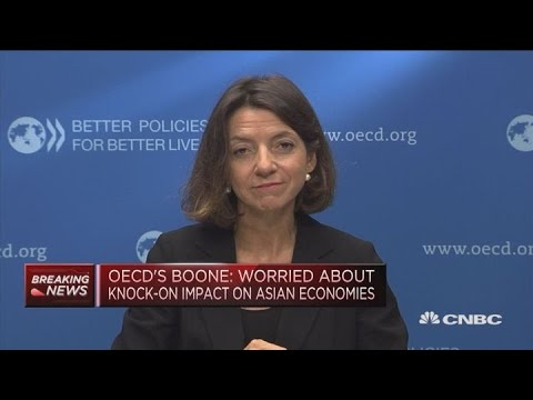 OECD: We still see healthy growth in China | Street Signs Europe