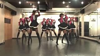 ENDo  GENERATION - PAPARAZZI練習映像 (コピ練習用反転)