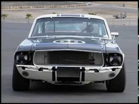 1967 shelby mustang coupe group 2 race car dream car