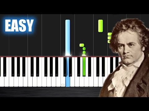 Beethoven - 5th Symphony - EASY Piano Tutorial by PlutaX