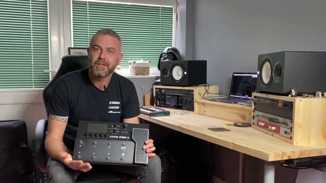New PodGo   Ross Bailey Live Steam Announcement   Yamaha Music London