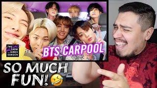 Baixar BTS Carpool Karaoke | James Corden REACTION