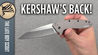 HOME RUN!!! Kershaw Dividend Knife Review