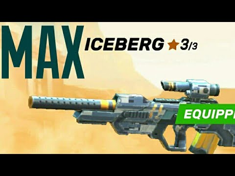 ICEBERG Sniper Max Upgrade : Guns Of Boom -  Online Shooter aNdroid / IOS Gameplay