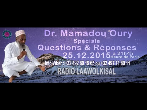 Dr. Mamadou Oury: Questions & Réponses #1 radio laawol kisal