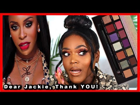 Jackie Aina X ABH Eyeshadow Palette ... My Edges are Gone! thumbnail