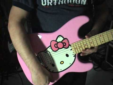 fender squier stratocaster pink hello kitty guitar review by scott grove youtube. Black Bedroom Furniture Sets. Home Design Ideas
