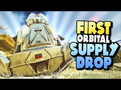 FIRST ORBITAL SUPPLY DROP - SO MUCH LOOT! | ARK Extinction DLC Ep 10
