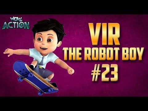 Vir: The Robot Boy | Hindi Cartoon Compilation For Kids | Compilation 23 | WowKidz Action