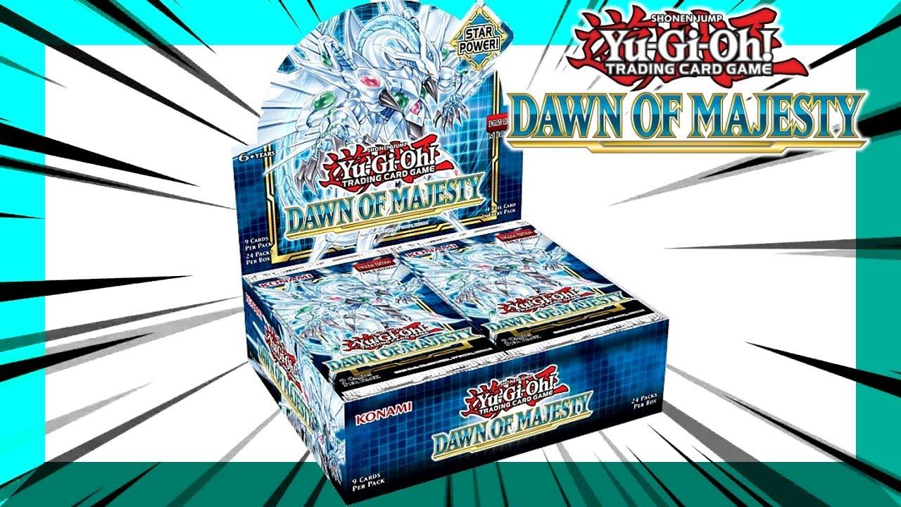 Yu-Gi-Oh! Dawn Of Majesty Reveal Opening