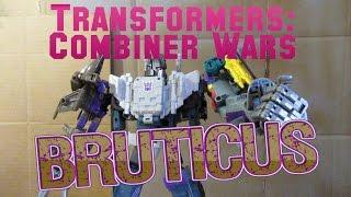 Transformers Combiner Wars Bruticus Stop-Motion [Part 1]