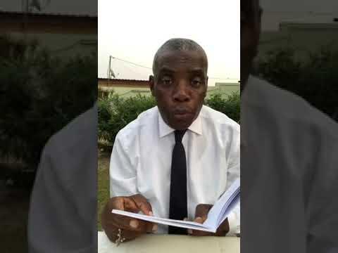 Violation de la Constitution: Jean Christophe Owono Nguema  s'explique.