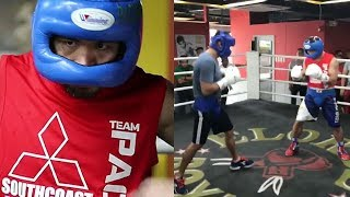 """FREDDIE ROACH RIPS PACQUIAO SPARRING AS """"WORST I HAVE SEEN HIM""""; NOT PREDICTING KO OF JEFF HORN"""