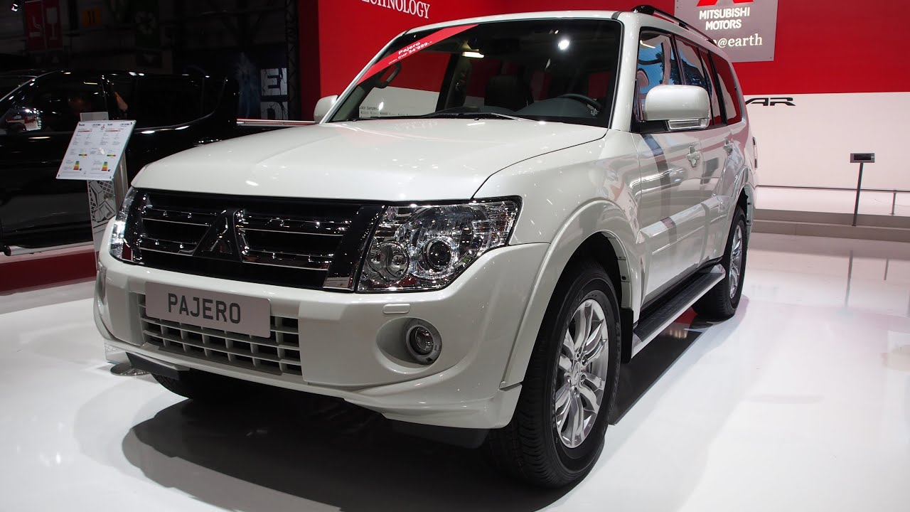 2014 mitsubishi pajero 3 2 did navigator 4x4 exterior. Black Bedroom Furniture Sets. Home Design Ideas