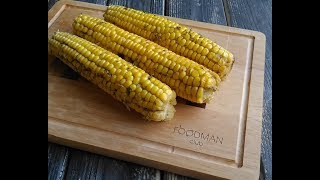 Кукуруза с чесноком в духовке: рецепт от Foodman.club