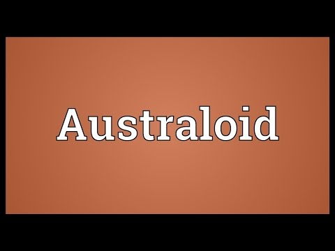 Australoid Meaning