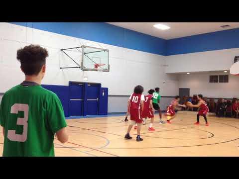 Homenetmen Gamk vs DCC midget boys basketball Montreal Dec 16 2017  second half