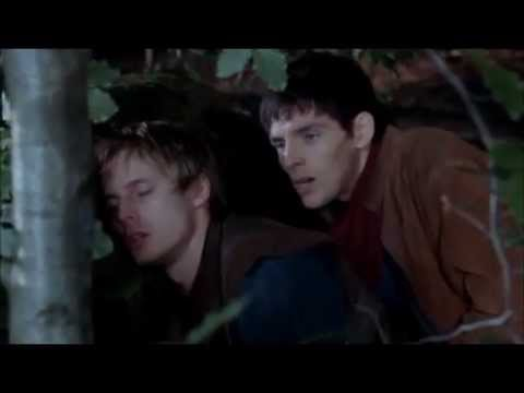 Merlin takes care of Arthur
