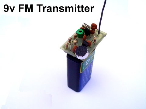 How to build a 2 transistor FM transmitter.Long and short range.